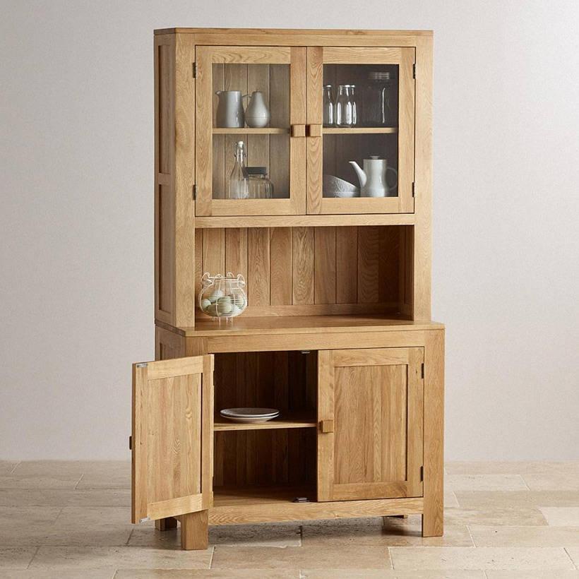 Tủ trưng bày và lưu trữ gỗ sồi Cozino Capri